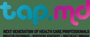 TAP MD logo w tag