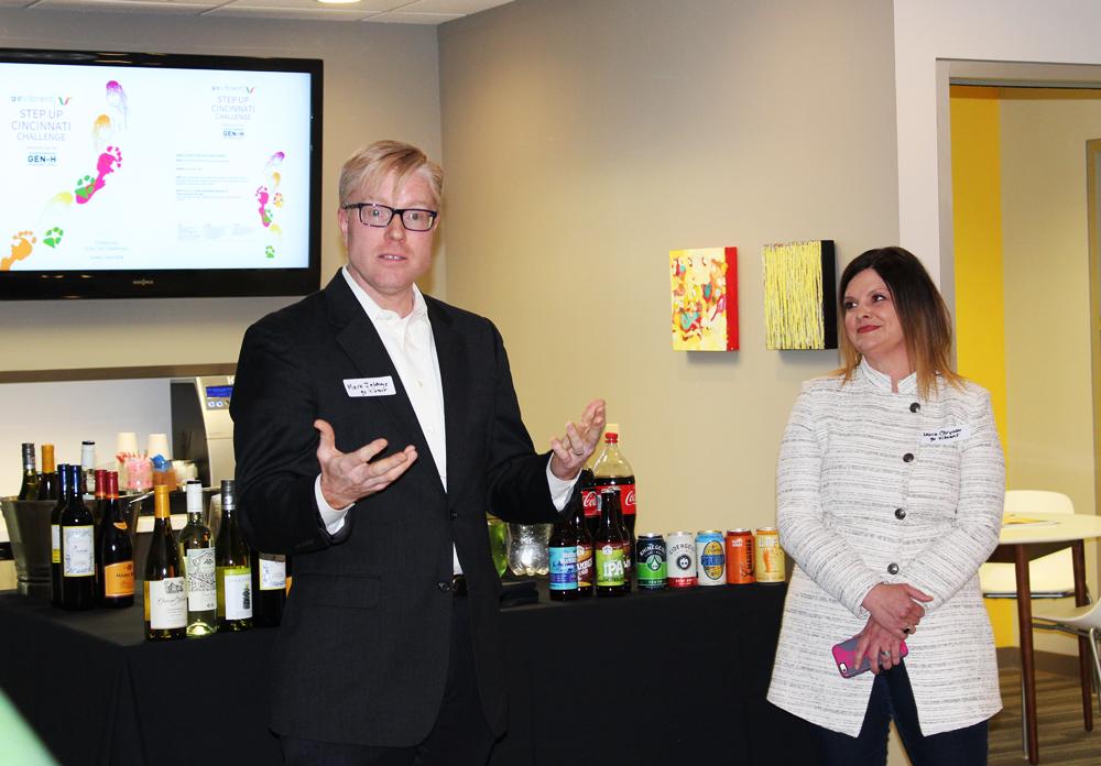Mark Jeffreys, Chairman/Founder, and Laura Chrysler, Executive Director, go Vibrant