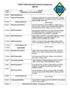 TriState Nursing Excellence Agenda