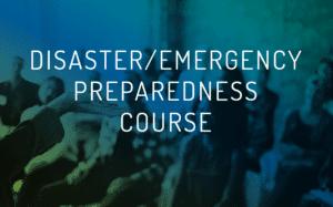disaster-emergency preparedness course