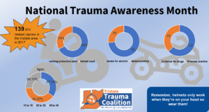 Infographic on 2017 RV-related trauma