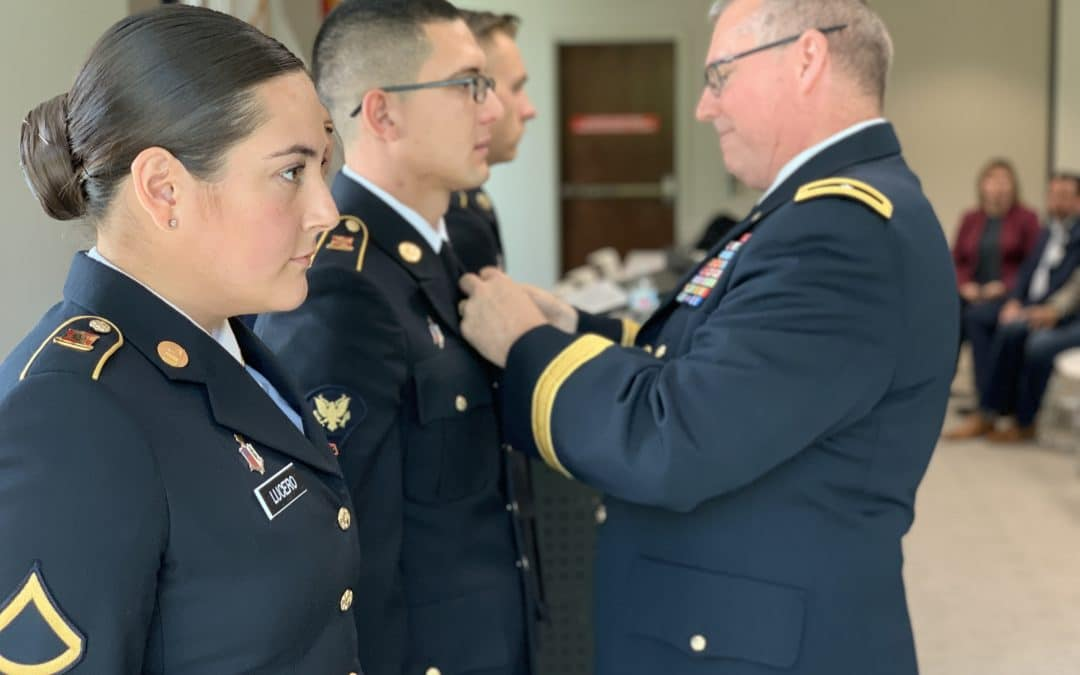 PFC RaeJean Lucero and SPC Roberto Sandoval, 1209th Area Support Medical Company, New Mexico
