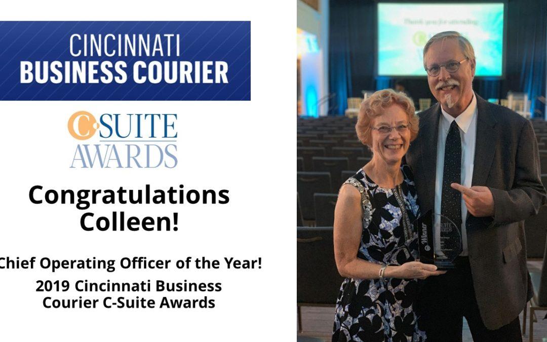 Congratulations, Colleen!