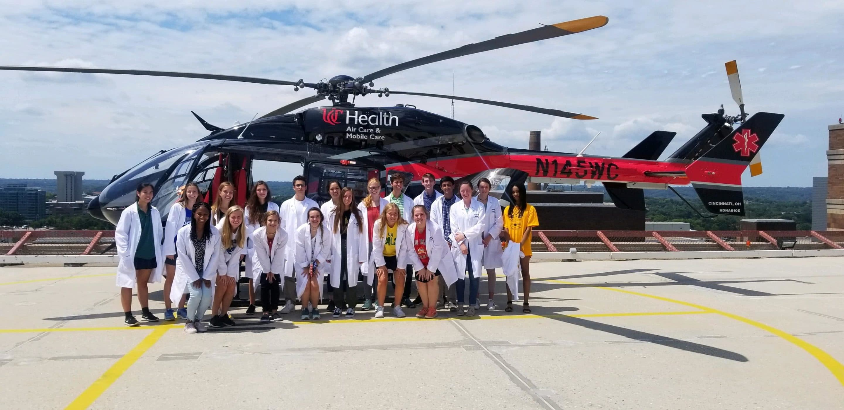 TAP MD visits UC Health for Trauma 101