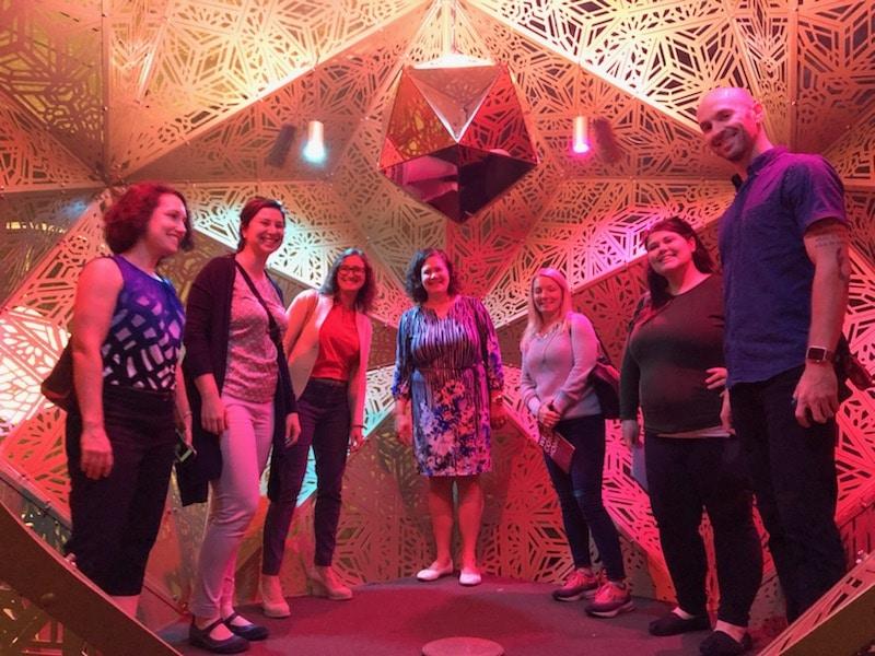 CPC+ team visits Burning Man Exhibit at Cincinnati Art Museum