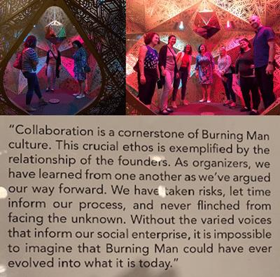 CPC+ at Burning Man exhibit