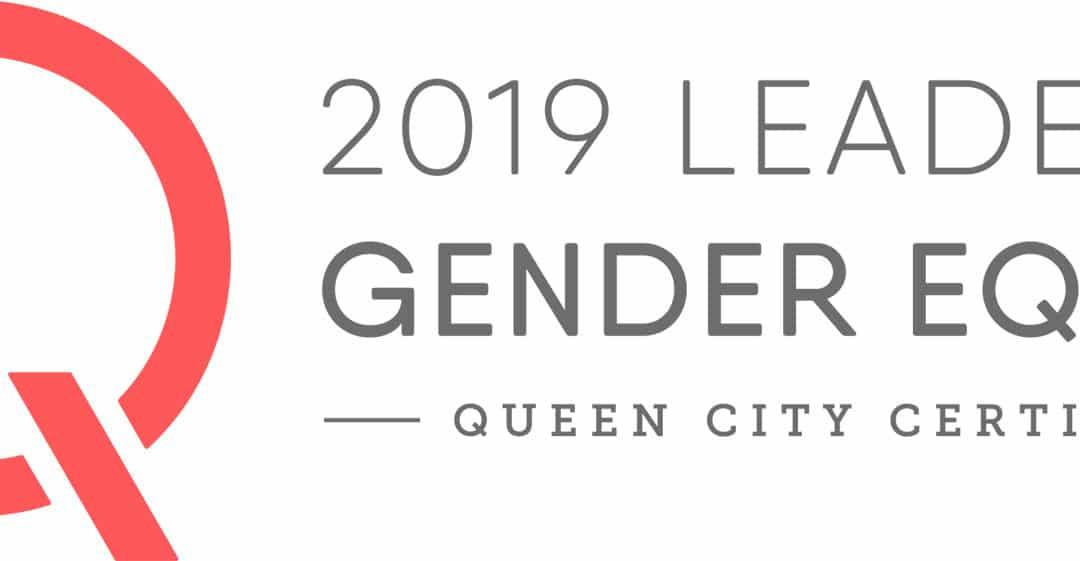 2019 Leader in Gender Equity logo