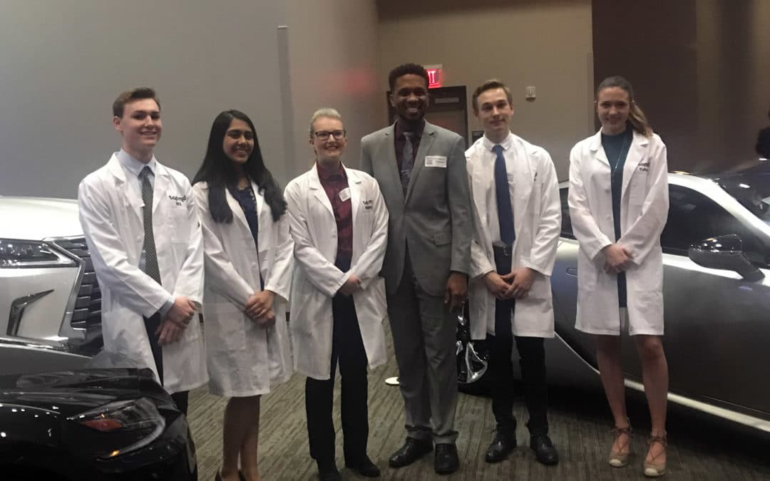 TAP MD students at Top Docs reception