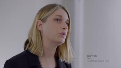 Sarah Mills, CEO Healthcare Access Now