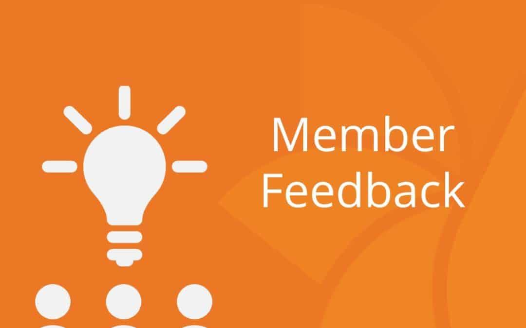 member feedback