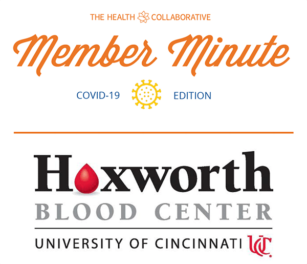 Member Minute with Hoxworth Blood Center: 450 Units Needed Every Day