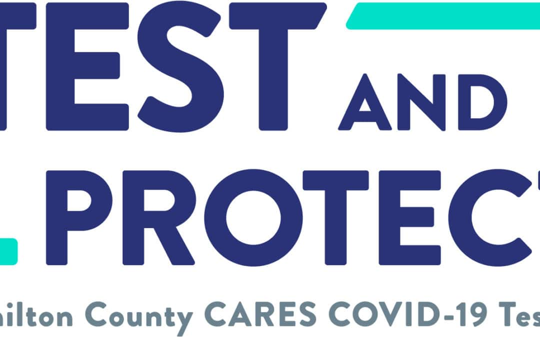 Test and Protect logo