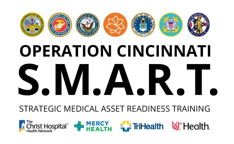 US Military Joins Forces with Four Cincinnati Health Systems to Provide Medical Training
