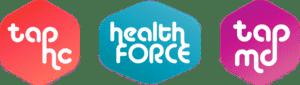 Tap Health logos